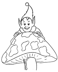 bluebonkers elf coloring 4 medieval mythical beings coloring