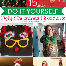 Christmas Sweater Party Ideas - ugly christmas sweater party ideas archives oh my creative