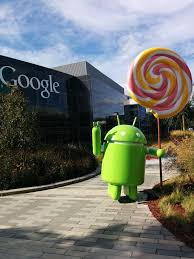 android 5 0 lollipop statue unveiled at google hq