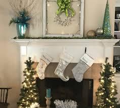 mantle decor vintage christmas mantle decor melclaire