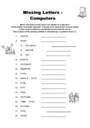 Computer Lesson Worksheets Teaching Worksheets Computers