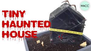 diy halloween tiny haunted house youtube