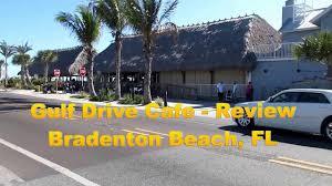 gulf drive cafe review bradenton beach fl youtube