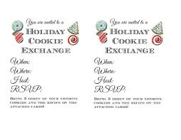 christmas invitations templates cookie exchange invitation templates virtren com