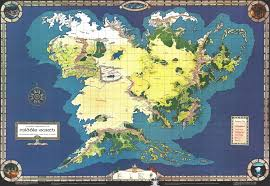 Continent World Map by Complete Continent Of Middle Earth Imgur