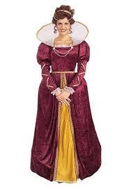 Victorian Halloween Costumes Women Elizabethan Costume