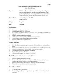 Sample Resume For Purchasing Agent Purchasing Assistant Job Description Purchasing Agent Cover