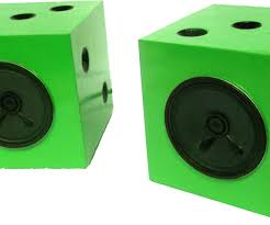 Cool Speakers Dice Speakers With Pictures