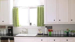 large kitchen window treatment ideas scarves design model of kitchen curtain ideas with green colour