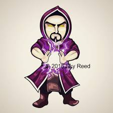 clash of clans wallpaper hd clash of clans wizard chibi by sky00reed on deviantart