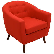 Overstock Armchair Rockwell Mid Century Modern Accent Chair Free Shipping Today