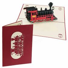 happy birthday halloween images 3d pop up train greeting card happy birthday thank you christmas
