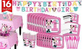 minnie mouse birthday decorations minnie mouse 1st birthday party supplies party city