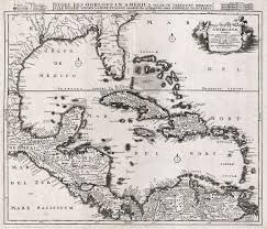 Map Of Cancun Mexico by File 1696 Danckerts Map Of Florida The West Indies And The
