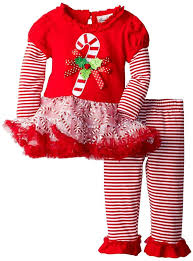 amazon com rare editions girls candy cane holiday dress