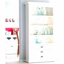 bookcase 3 shelf standard in white floating bookshelf with drawers