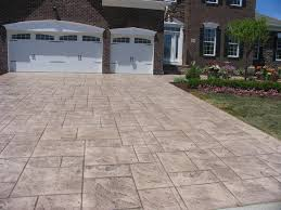 Stain Old Concrete Patio by Stamped Concrete Driveways Patios Walkways Pool Deck And Porches