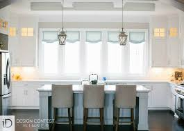 ideas for kitchen window curtains adorable kitchen window treatments of curtains budget blinds home