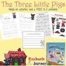pigs aloud activities free printable