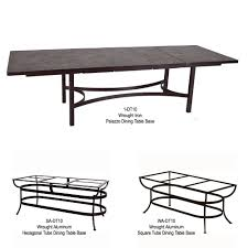 expanding porcelain tile top dining table ow lee at forpatio com