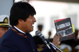 evo morales bolivian president uses former dea agent u0027s book to send message to