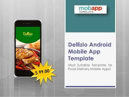 application android cuisine dallizio android mobile application template only at 99