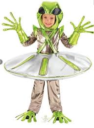 Alien Halloween Costume Alien In Spaceship Costume From Chasing Fireflies Costume Review