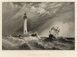 place eddystone lighthouse bound for south australia