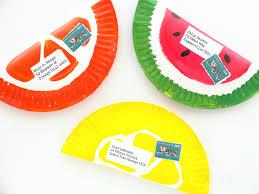 fruity paper plate envelopes my poppet makes