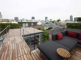 inexpensive patio designs modern rooftop terrace design modern
