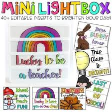 what is a light box used for in art editable light box designs set 2 inserts for the lightbox mini