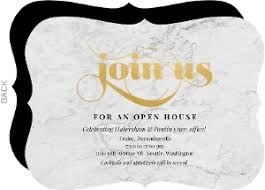 Open House Invitations Floral Business Open House Invitation Business Open House