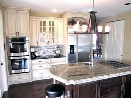 painting kitchen cabinets cream image of glazed kitchen cabinets