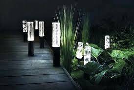 Landscape Led Lights Solar Rock Garden Lights Outdoor Lights Landscape Led