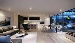 salon et cuisine moderne ouverte sur 1 lzzy co