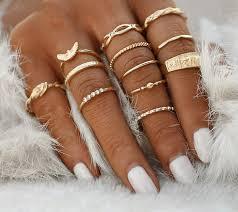 knuckle rings images Eagle bird ring knuckle rings midi ring by mooncharmers on zibbet jpg