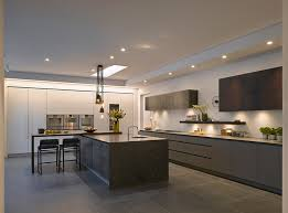 roundhouse urbo painted veneered and metallic kitchen as seen on