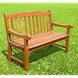 Emily Garden Bench Zest4leisure 2 Seater 4 Ft Emily Bench Wood Amazon Co Uk
