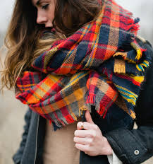 currently coveting plaid scarves lessy