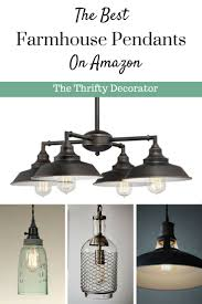 Farmhouse Pendant Lights by Pendant Lights Archives The Thrifty Decorator