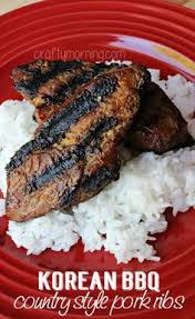 Barbecue Country Style Pork Ribs - easy country style bbq pork ribs recipe from thefrugalgirls com