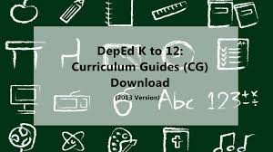 deped k to 12 curriculum guides download