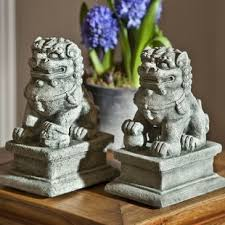 yellow foo dogs13th birthday ideas outdoor foo dog statues wayfair