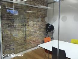 glass partitioning at hutch games ltd london glass partition u0026 door