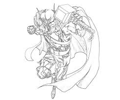 Thor Coloring Pages Printable For Kids Coloring Pages Thor Coloring Page