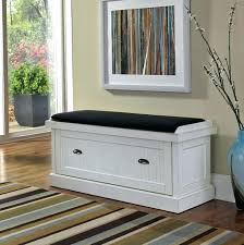 cushion storage bench no sew bench cushion here s one option using