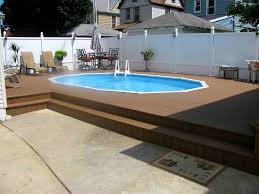 semi inground pool semi inground pool installations semi pools