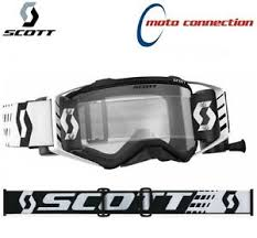 motocross goggles ebay new 2018 scott wfs prospect roll off black white motocross mx