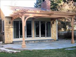 Free Patio Cover Blueprints Outdoor Wonderful Steel Patio Awnings Free Patio Cover Plans