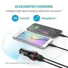 Anker Dual Port Car Charger Discount Car Charger Anker 24w Dual Usb Powerdrive 2 For Iphone 7